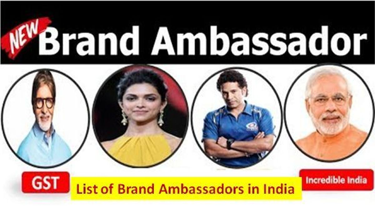 List of brand Ambassdors in India 2018