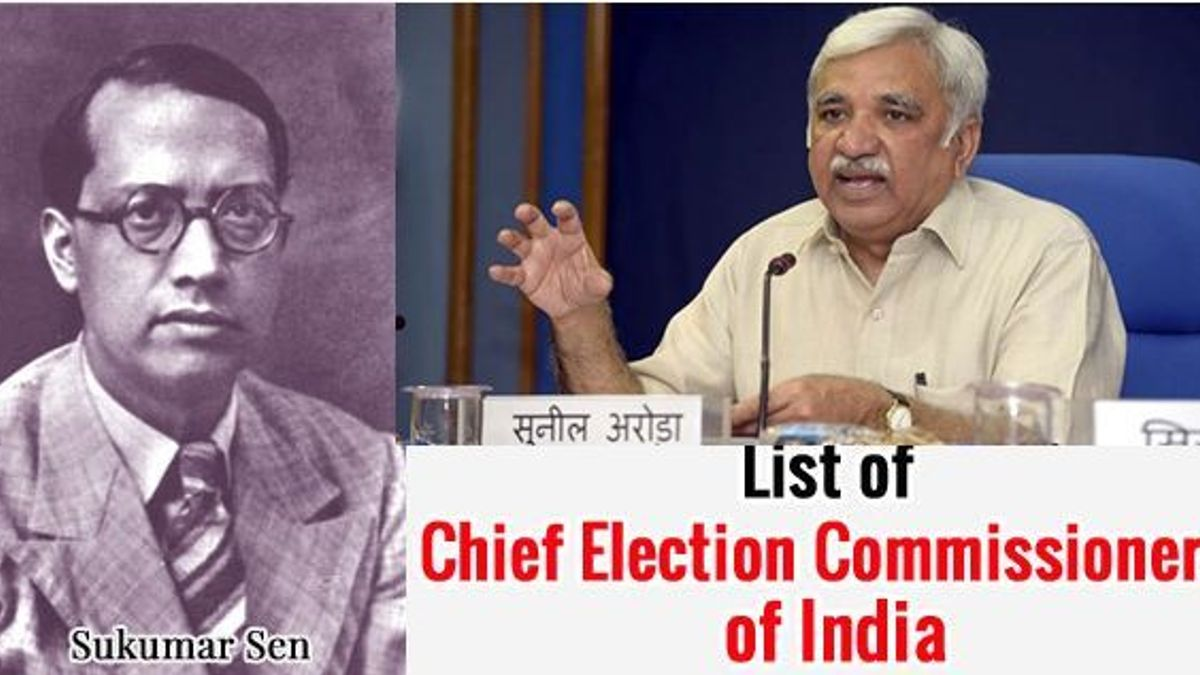 Chief Election Commissioner of India