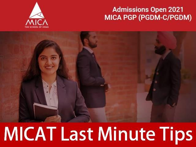 MICAT 2021 Last Minute Tips for Preparation