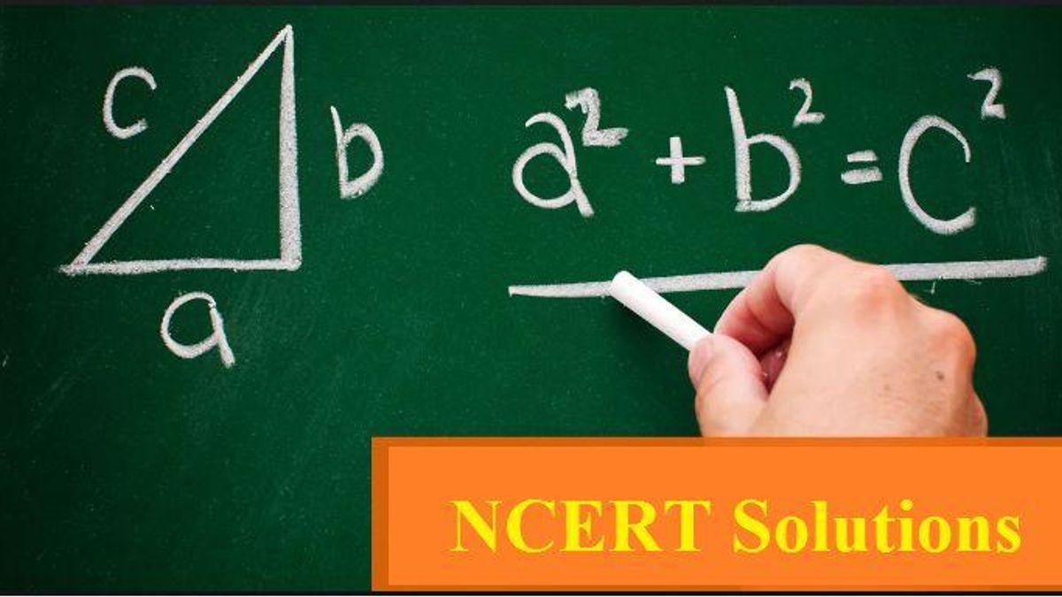 Class 10 Maths NCERT Solutions