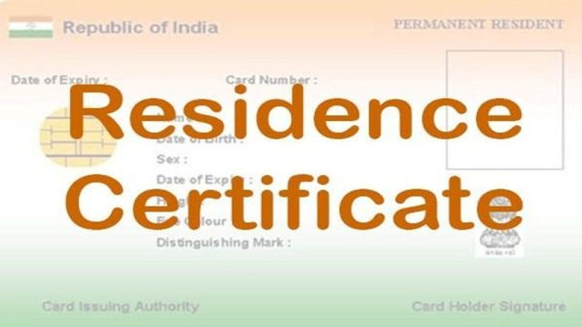 Permanent Resident Certificate