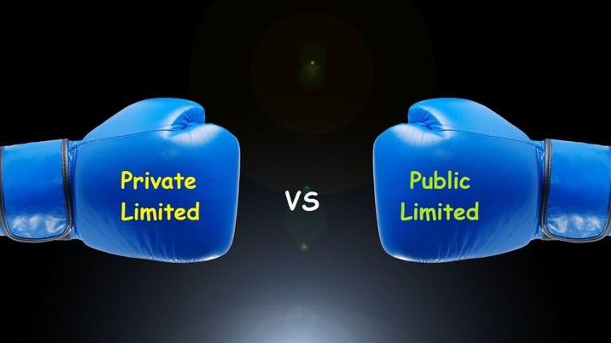 Private company vs.Public-company