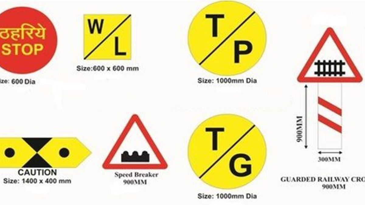 Indian Railway Signs and Symbols