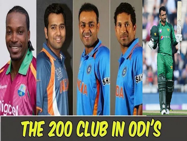 Batsmen with double Centuries in ODI