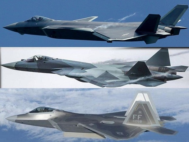List of the 5th Generation Fighter Aircrafts