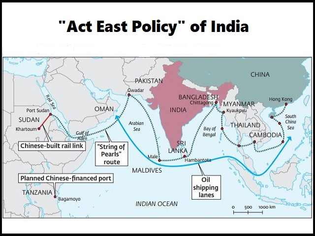 Act East Policy of India