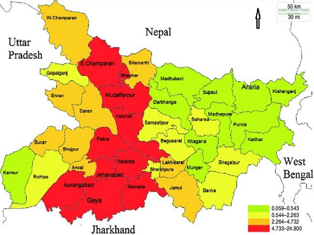 Bihar: Population as per Census 2011