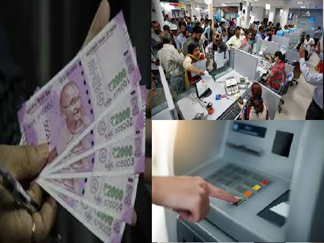 Cash withdrawals and deposits Fees in Banks
