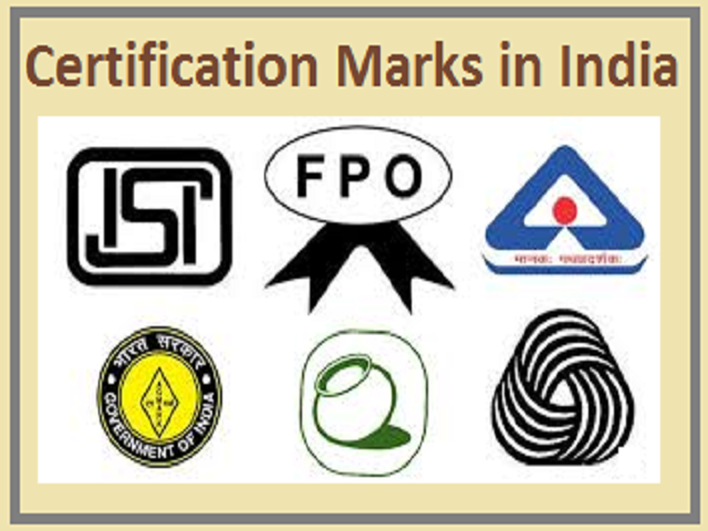 Certification Marks in India