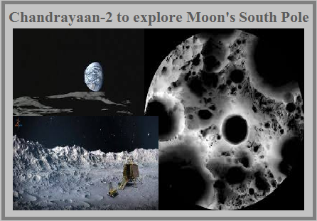 Why Chandrayaan-2 landing is focus on Moon's South Pole?