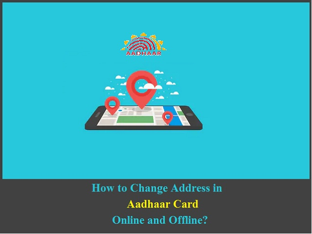 Change Address in Aadhaar Card