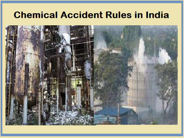 Chemical Accident Rules in India