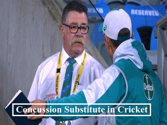Concussion Substitute