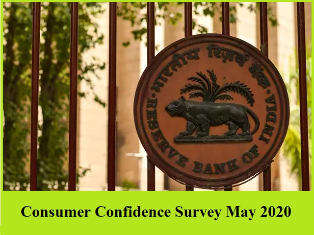 Consumer Confidence Survey May 2020