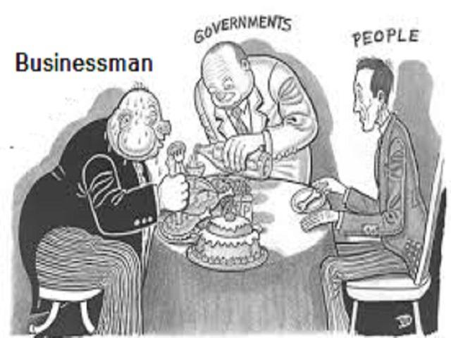 Cartoon on Crony Capitalism