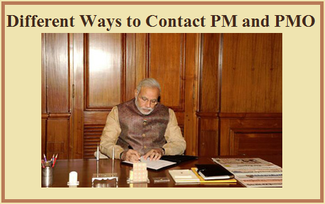 Different ways to contact PM and OMO