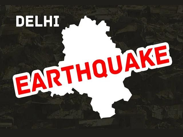 Earthquake in Delhi