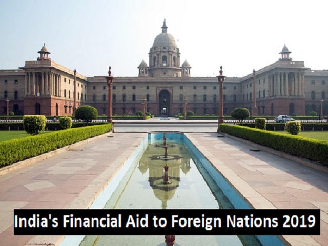 India's Aid to Foreign Countries in 2019