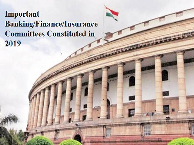 Important Finance Committees
