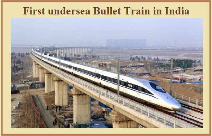 First Bullet Train in India