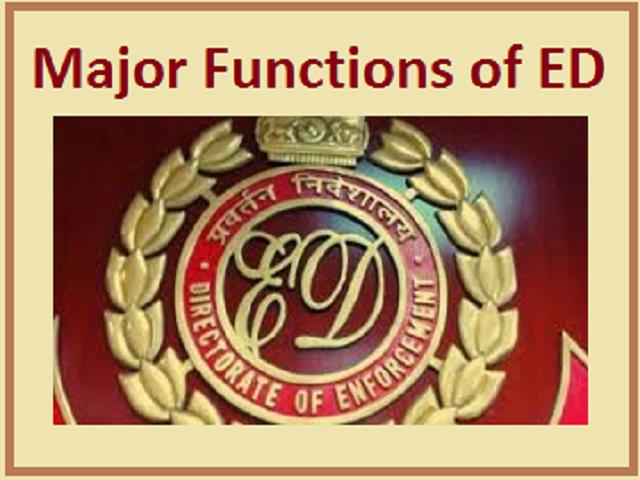 Enforcement Directorate (ED Logo)