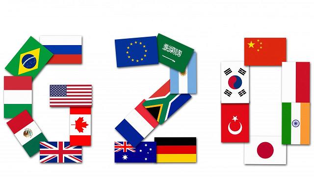 Flag of G-20 Members