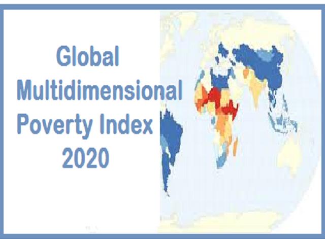 Global Multidimensional Poverty Index 2020