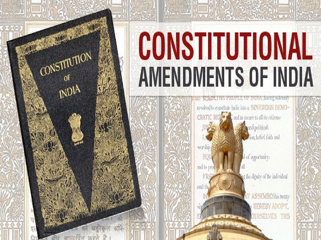 Important Amendments in Indian Constitution