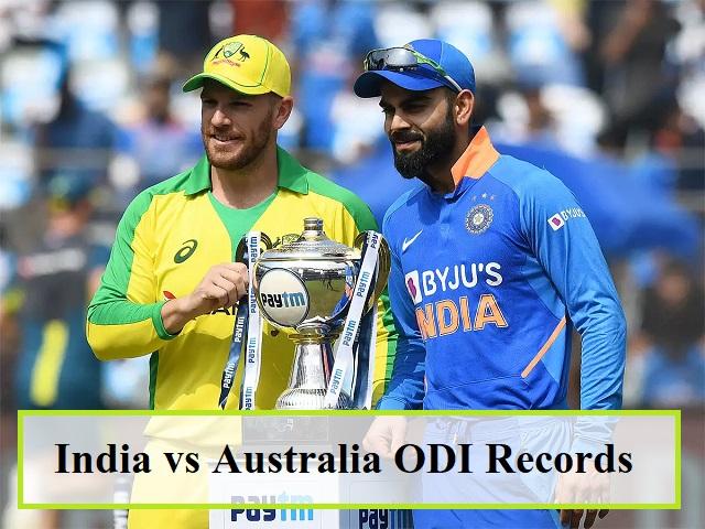 India vs Australia ODI Records