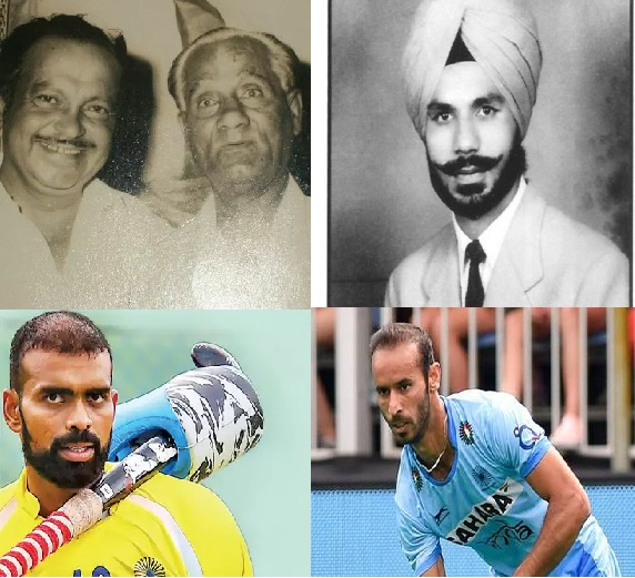 List of former Captains of Indian hockey team