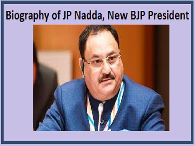 JP Nadda, New BJP President