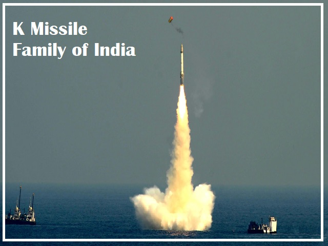 K Missile Family of India