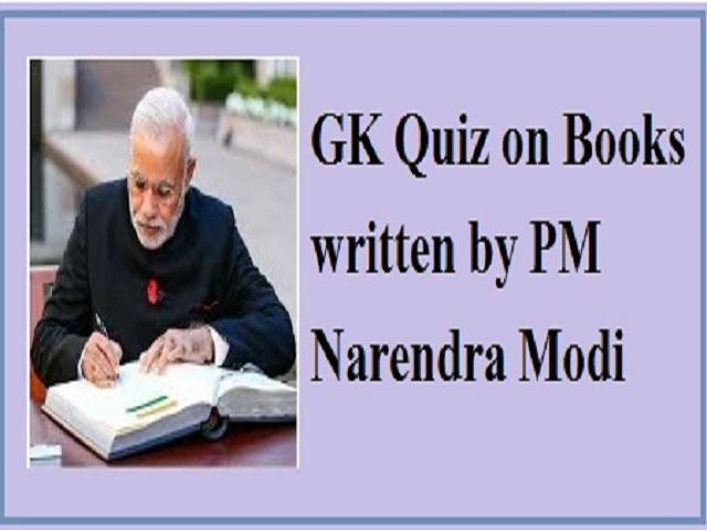 GK Quiz on Books written by PM Narendra Modi