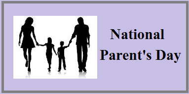 National Parent S Day 2020 History And Significance