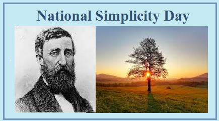 National Simplicity day