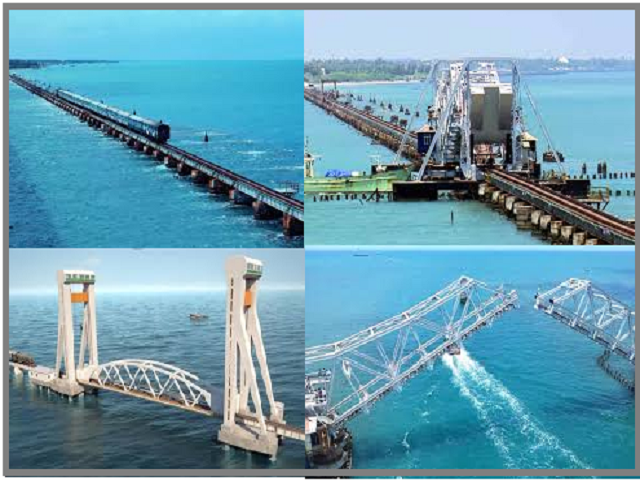 India's 1st vertical lift railway sea bridge