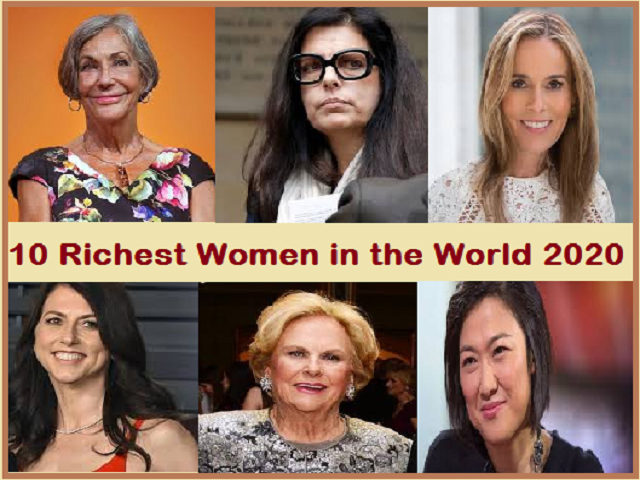10 Richest Women in the World 2020