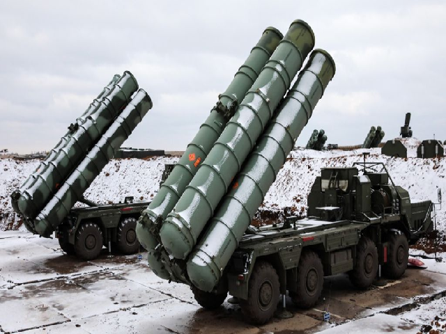 S-400 anti-missile system