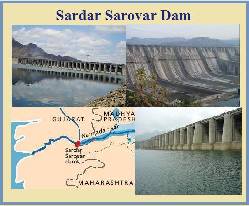 Image result for 3. Sardar Sarovar Dam aka Narmada Dam