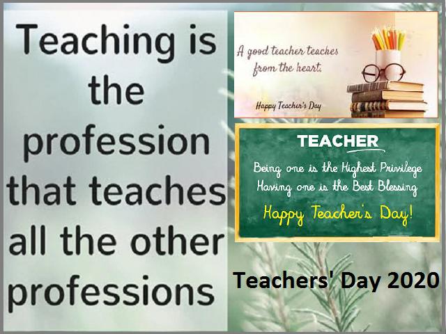 Teachers' Day 2020 in India