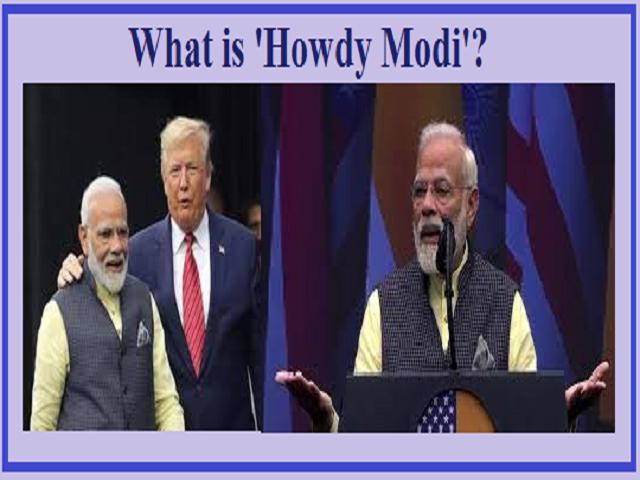 What is 'Howdy Modi'?