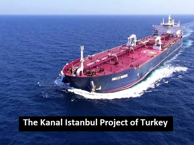 What is the Kanal Istanbul Project of Turkey?