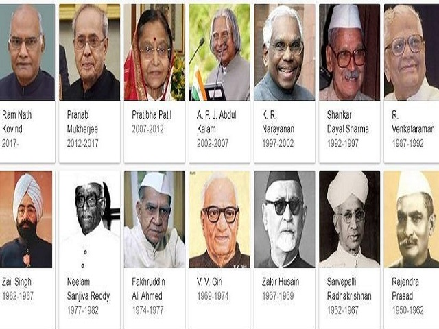 Former Presidents of India
