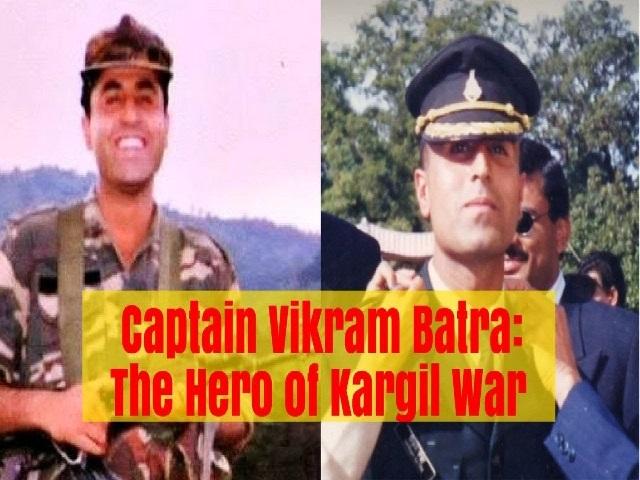 Captain Vikram Batra Biography