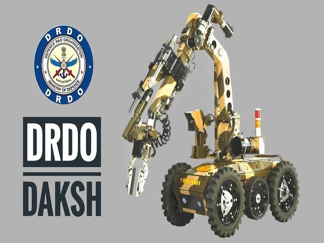 Dksha: First Anti terror Robot of India