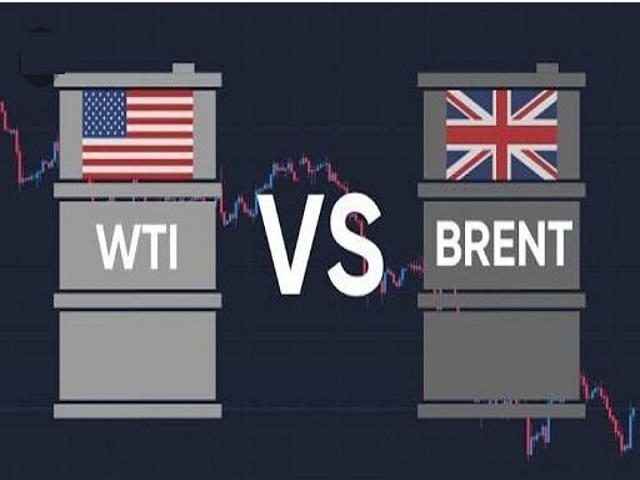 Difference between Brent crude oil and WTI crude oil benchmark
