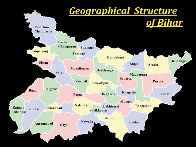 Geographical Structure of Bihar