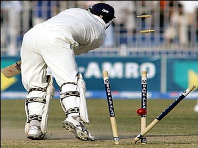 Bold out in Test match