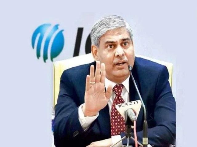 Present ICC chairman:Shashank Manohar