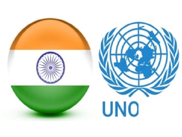 India a Non permanent member of UNO